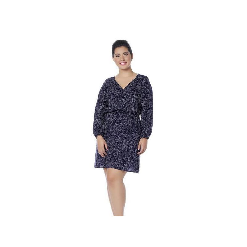 Vestido marino manga larga 011947