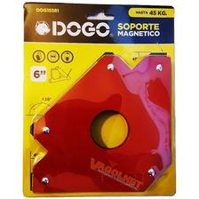 Escuadra Dogo Magnética 6   Herrero Soldador Max 45kg Grande