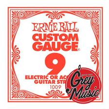 Cuerda Suelta 09 Ernie Ball 1009 Para Guitarra Electrica
