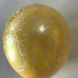 globo filigrana dorado desinflado apto helio