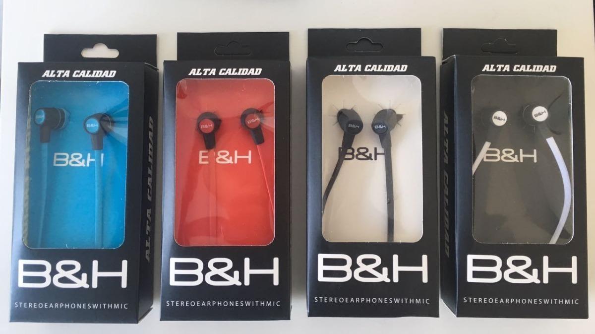Auricular Intrauditivo In Ear Con Manos Libres Microfono B&h