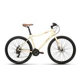 Bicicleta Urbana Sense 2020 Move Creme Aro 29 21v Tourney
