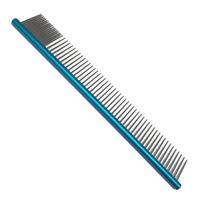 Pente Alumínio Azul Grande Redondo - BSZ Pet Line