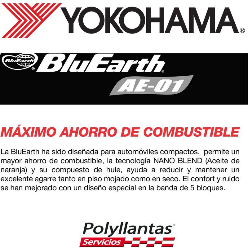185-60 R14 82H Bluearth Ae-01 Yokohama