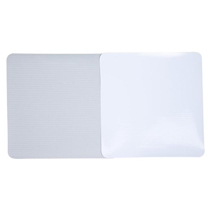 Lona pvc para frontlight Unifront branca brilho avesso cinza (380 g) larg. 2,50 m