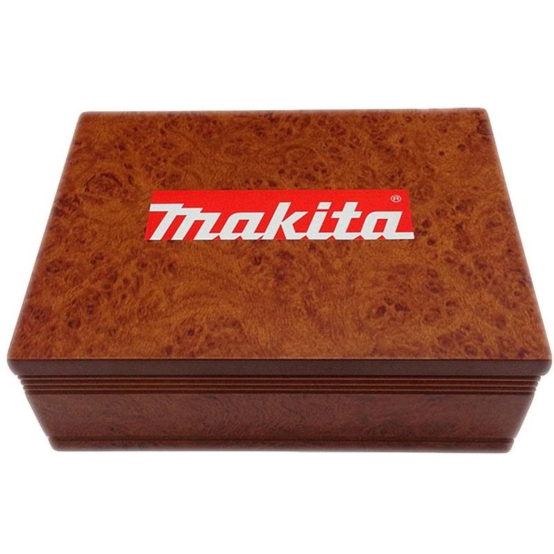 Jogo de Fresas 6 mm com 12 peças - A-87921 - Makita