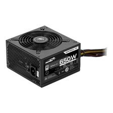 FUENTE SENTEY GAMER 650W 80 PLUS WHITE ATX SDP650-FX ACUARIO