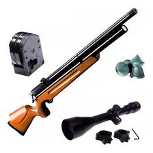 Rifle Aire Comprimido Fox Pcp M22 5.5 - Regulado + Mira 4x40