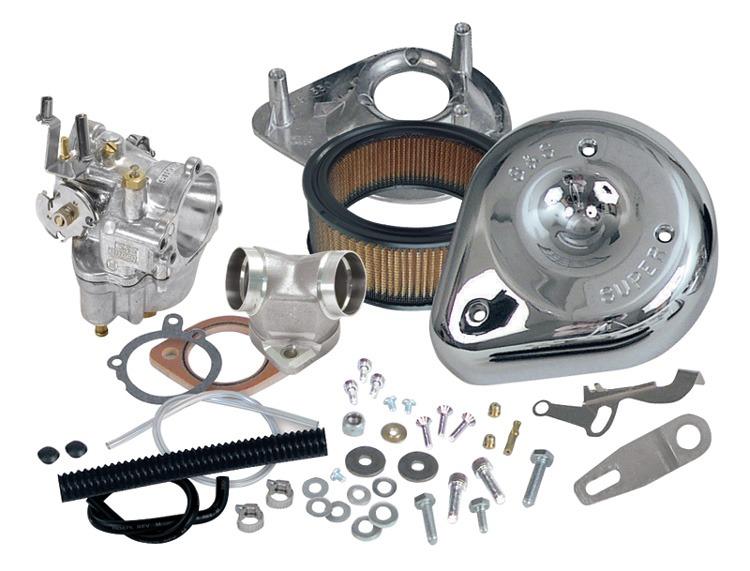 Kit Carburador S&s Super E 11-0450 47.6mm Harley 99-05