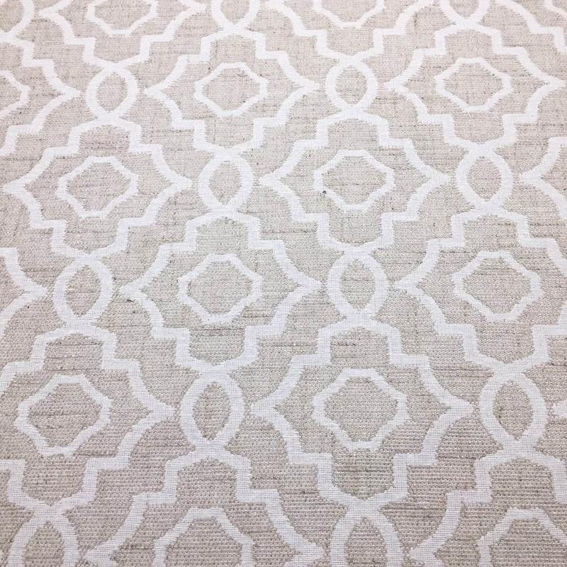 Tecido para estofado linho mandala rústico  Linen 18