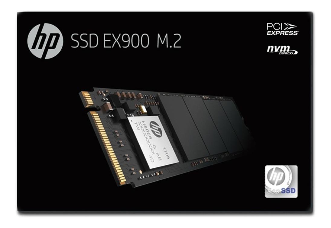 Disco Solido Ssd Hp Ex900 250gb Pcie Nvme M.2 M2 2280 Gtia