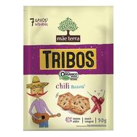 Salgadinho Organico Tribos Sabor Chili Suave 50g - Mae Terra