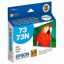 Cartucho Epson 73n Cian Cx3900 5600 5900 Original