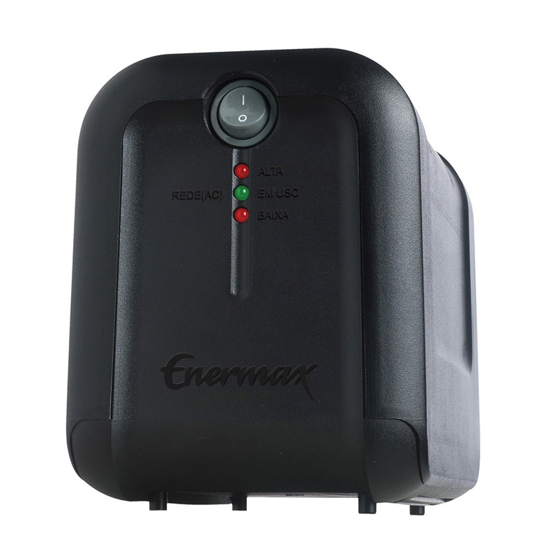 ESTABILIZADOR 1000VA BIVOLT MANUAL/115V ENERMAX EXS II POWER 21.10.018P