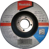 Disco de Desbaste 115 mm para Metal - D-19831 - Makita