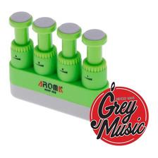 Ejercitador Para Dedos Aroma Ahf-03 Color Verde Y Negro