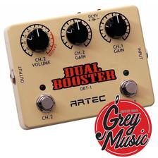 Pedal Artec (dbt1) Dual Booster - Grey Music -