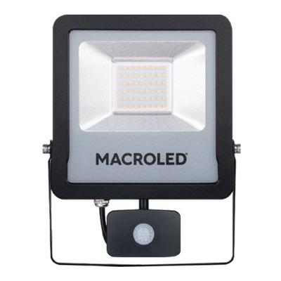 Macroled Proyector Con Sensor De Movimiento 50w