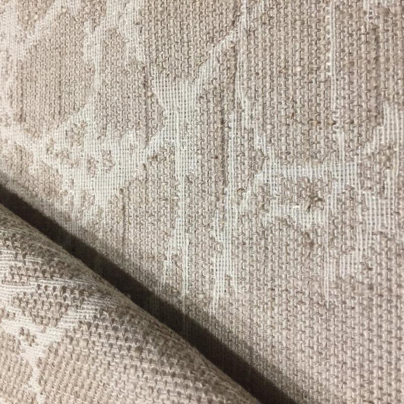 Tecido para estofado linho estampado rústico  Linen 03