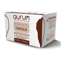 Biscoito de Arroz com Tapioca e Sal Rosa - 45g Aurum