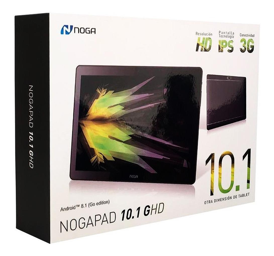 Tablet + Telefono + Celular Chip Sim 3g Noga Bt Wifi Oficial