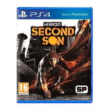 Infamous Second Son Ps4 Fisico Sellado Nuevo Original