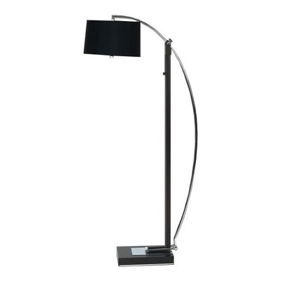 Lámpara De Pie Living Wengue Extensible Apto Led Gmg