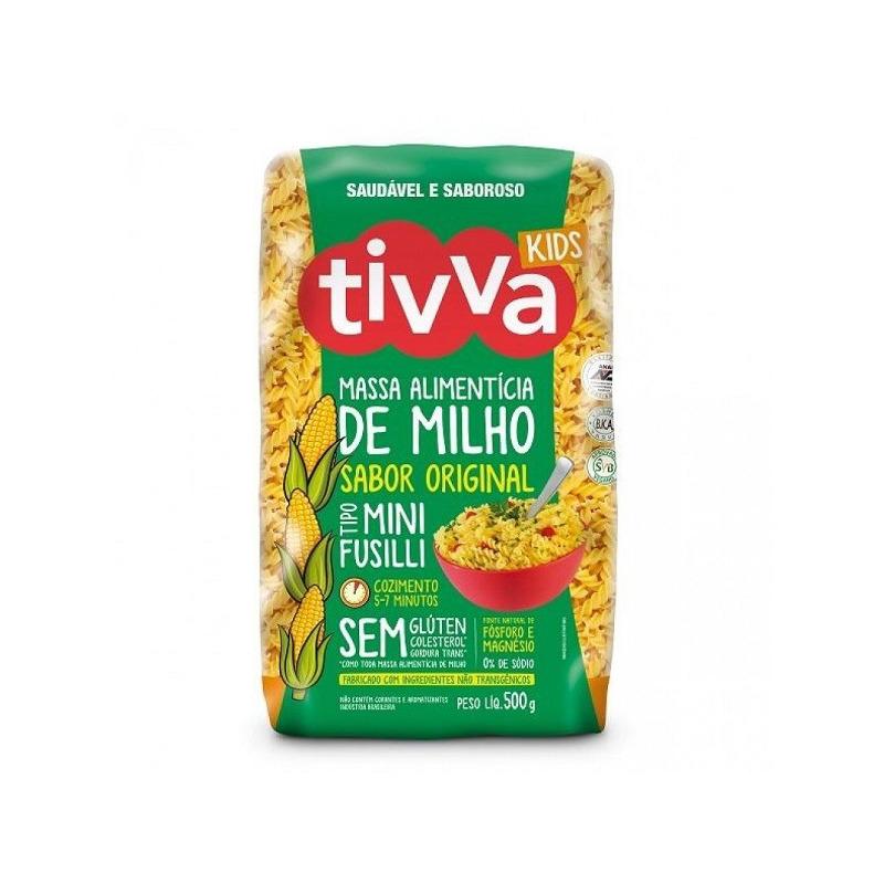 Macarrao Mini Fusilli (Parafuso) Original - 500g Tivva Kids
