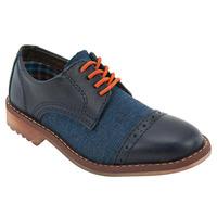 Zapatos Casuales Azul Marino 017587