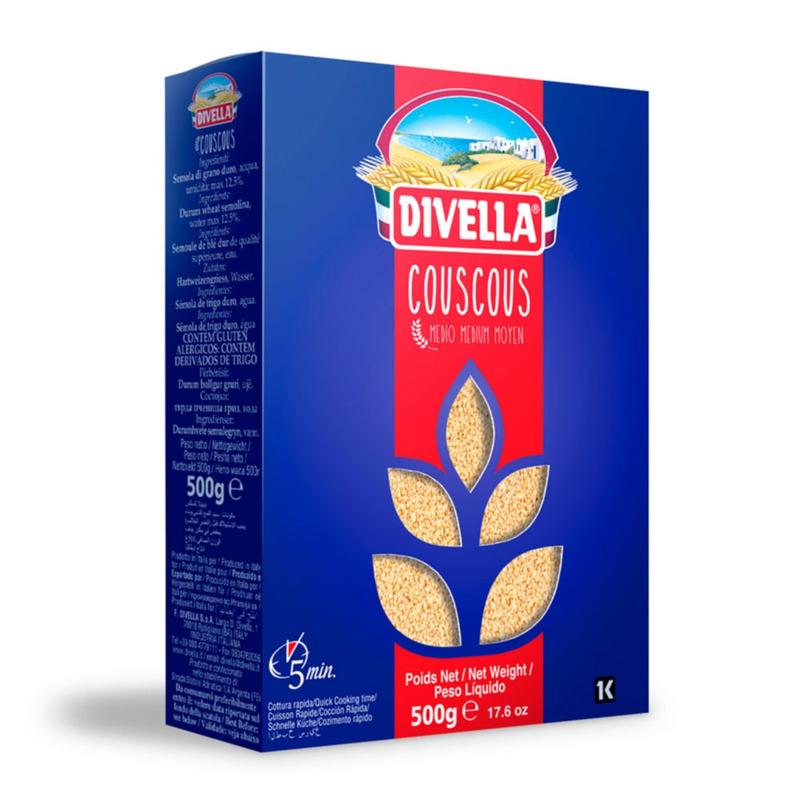 Couscous Médio - 500g - Divella
