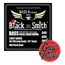 Encordado Black Smith Anw-40100-4 34 Para Bajo 0.40 X4
