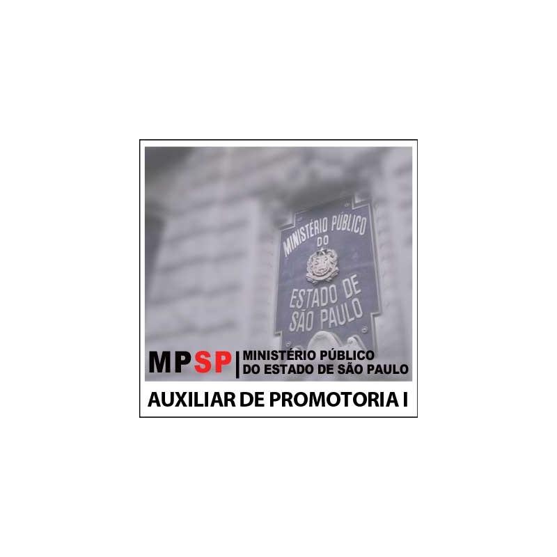 Auxiliar de Promotoria I AA MP SP 2018