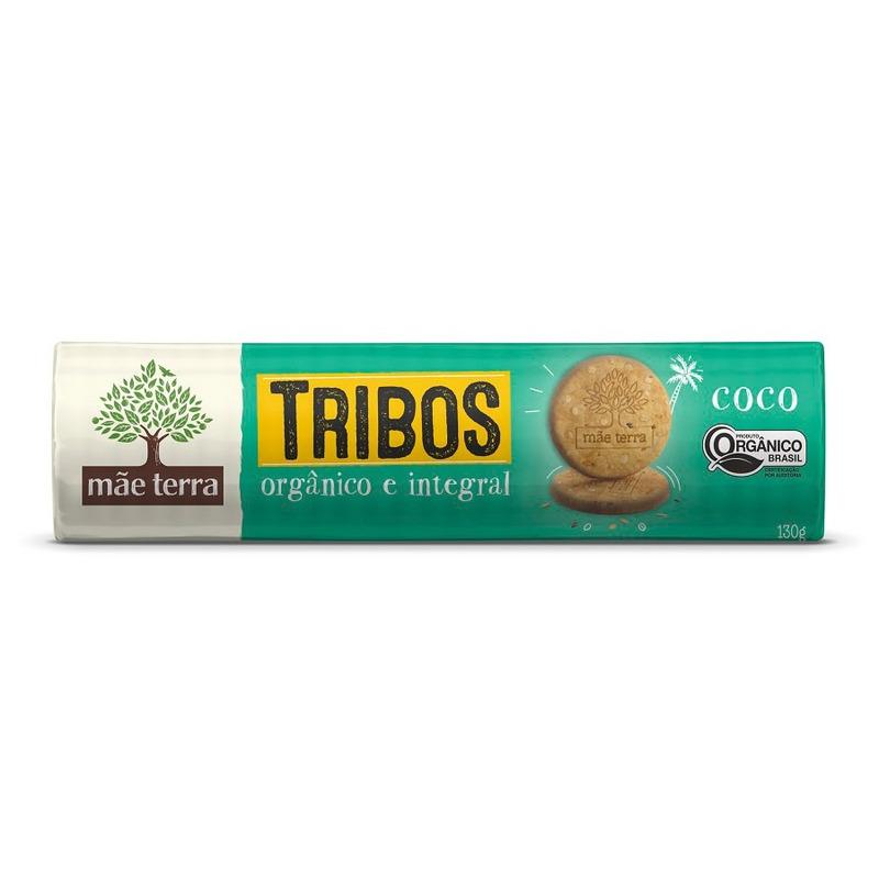 Biscoito Tribos Organico 130g Coco - Mae Terra