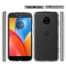 Funda Transparente Bumper Motorola E4 E4 Plus Tpu Rigida