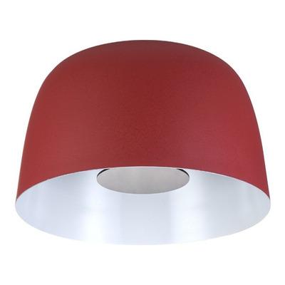Lámpara Colgante Megalo Rojo Led 19w Deco Moderno