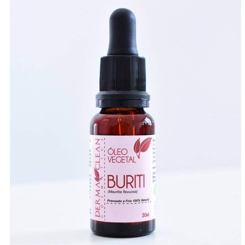Oleo Vegetal de Buriti - 20ml - DermaClean