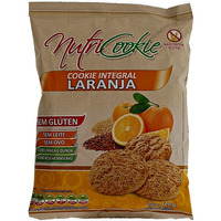 NutriCookie Integral de Laranja Sem Gluten 120g - NutriPleno