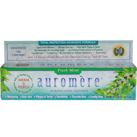 Creme Dental Natural Indiano - Fresh Mint - 117g  Auromere