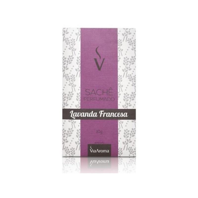 Sache Perfumado - Aroma Lavanda Francesa - 10g - Via Aroma
