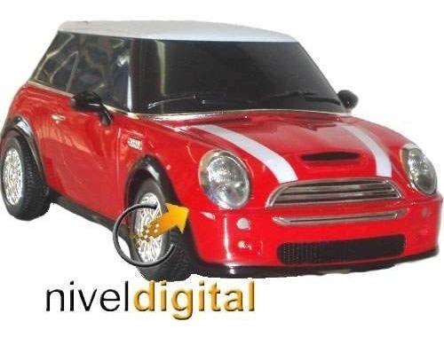 Auto Radio Control Mini Cooper Rc Inmenso Luces Sonido Video