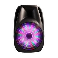 Parlante Portatil Bluetooth Led Con 1 Microfono Sp6110 Noga