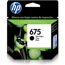 Cartucho Hp 675 Negro Original Cn691al 4000 4400 4575