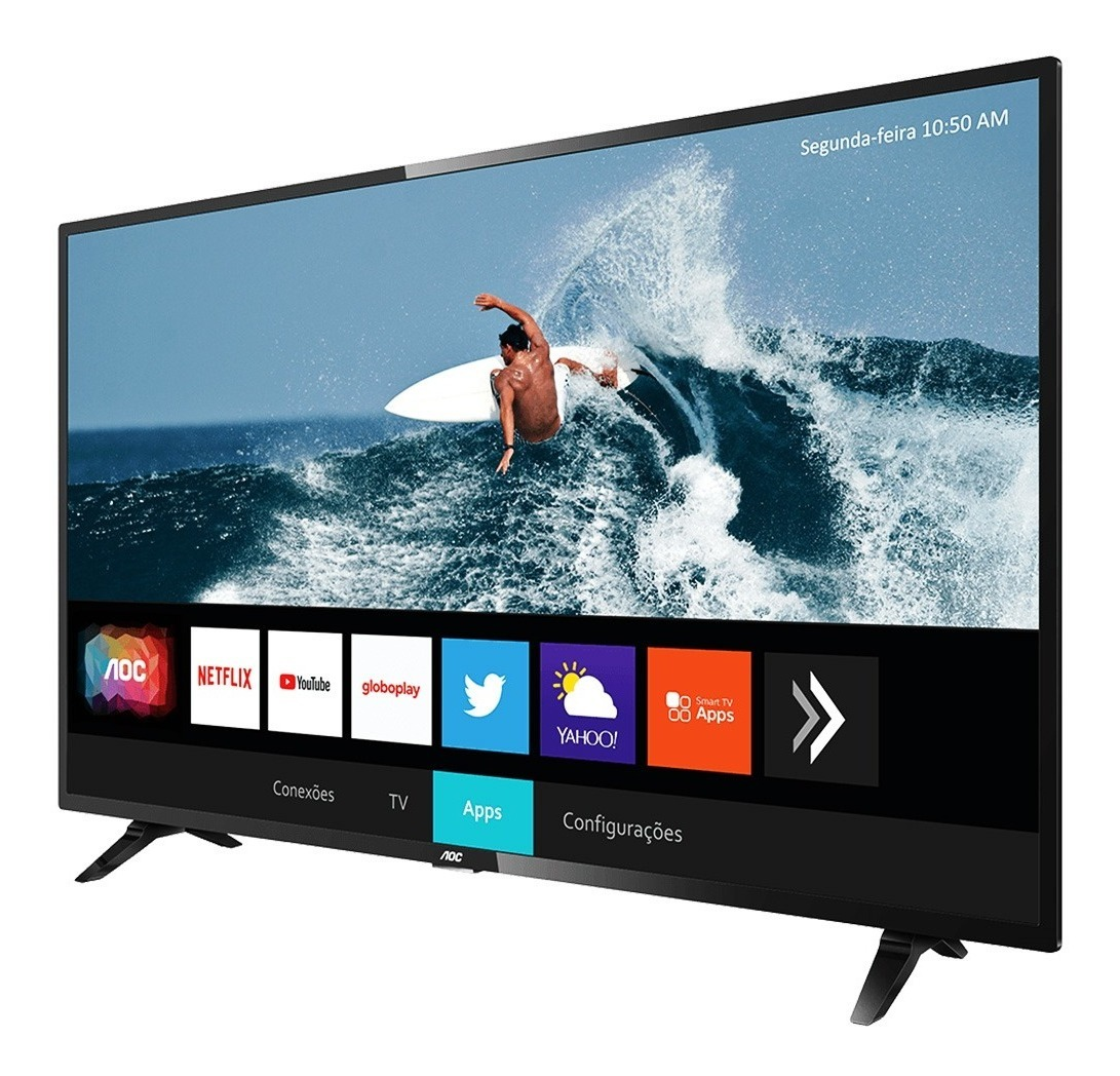 Smart Tv Led 32 Pulgadas Hd Aoc 32s5295 Con Hdr Hdmi Tda Wifi Gtia Oficial
