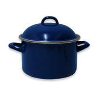 Olla 16 Cms Peltre Duracero Azul  Vasconia 182468