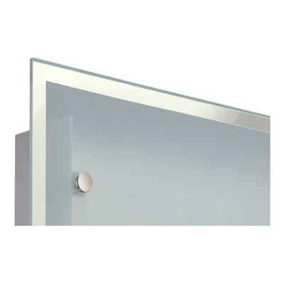 Aplique Difusor Vidrio Espejo 2 Luces Plafón Iluminación