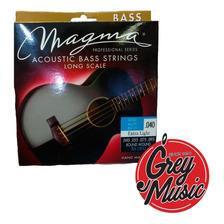 Encordado Magma Ba130g De Bajo-acoustic Gold Alloy