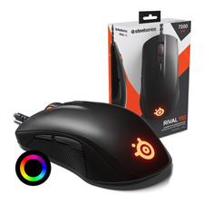 Mouse Gamer Steelseries Rival 110 Led Rgb Prism 7200dpi Pc Mac Gtia Oficial