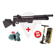 Rifle Aire Pcp Kral Puncher 12 Tiros - Regulable + Inflador