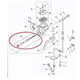 Kit Reparo Cilindro Mestre Freio Harley Um Disco 45006-96 Ds
