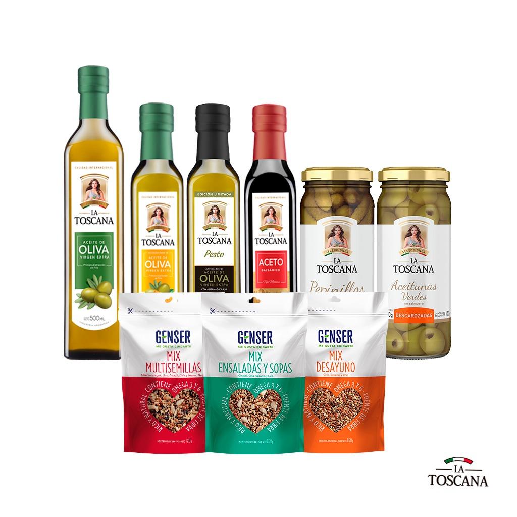 De regalo Semillas Genser + Aceite Oliva +  Aceto + 2 Sab...